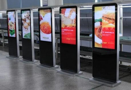 47 55 inch Android Touch Screen Advertising player floor standing lcd ad player mall Display in qatar