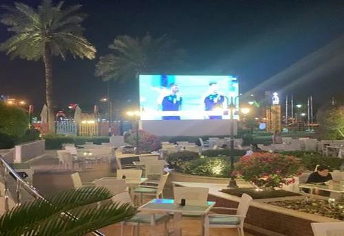 outdoor led display screen in qatar